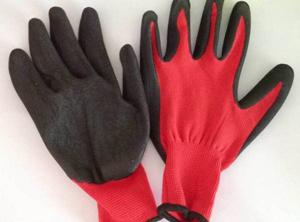 industrial rubber latex gloves industrial nylon knitting hand nitrile gloves