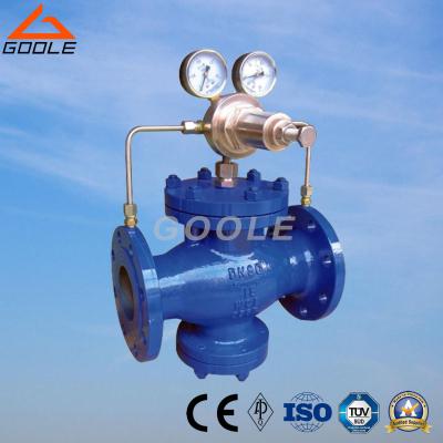YK43F/H Pilot piston type gas pressure reducing valve