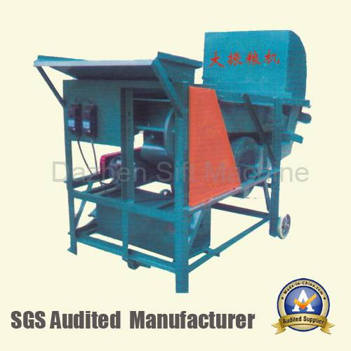 DZL-8 Selection sieving throwing food machine