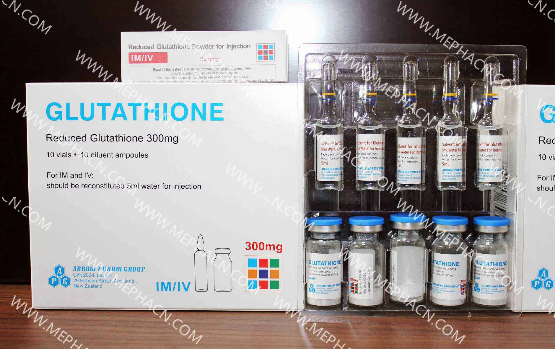 300mg skin whitening Glutathione for injection