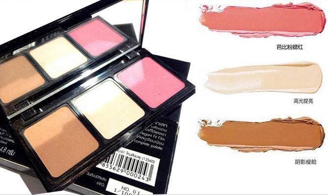 High Quality Pressed Powder Beauty Makeup Color Cosmetic