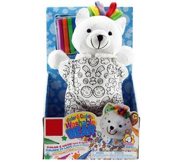 Washable Plush Polar Bear Toys