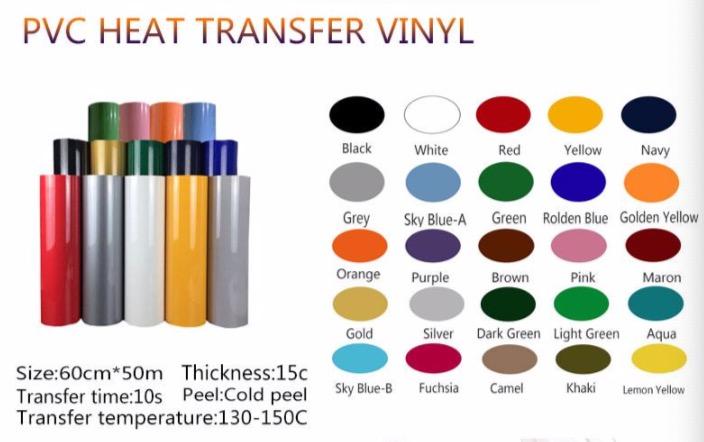 PVC heat transfer vinyl Korean quality