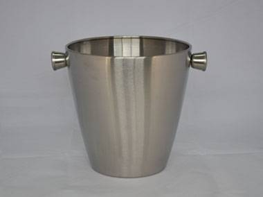 3000ml stainless steel ice bucket with handle