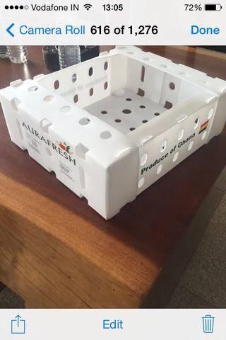 5kgs pp corrugated fresh okra box