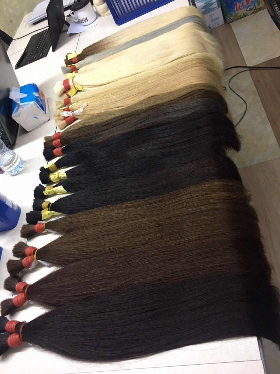Vietnam Bulk Hair Straight