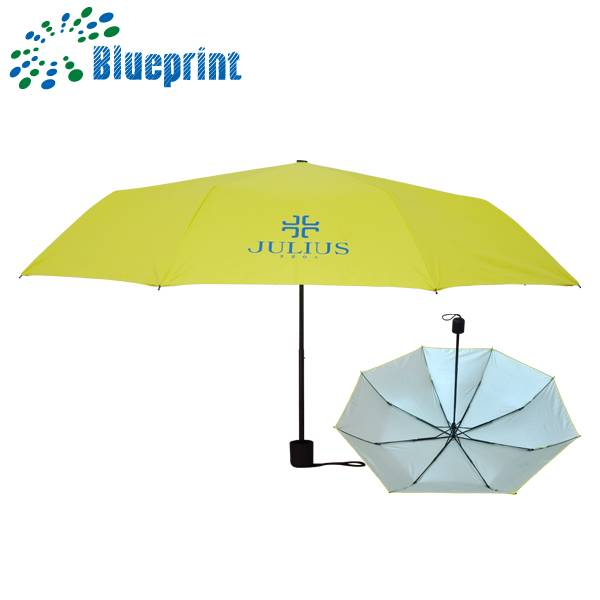 High quality fashion 3 folding umbrella super light compact
