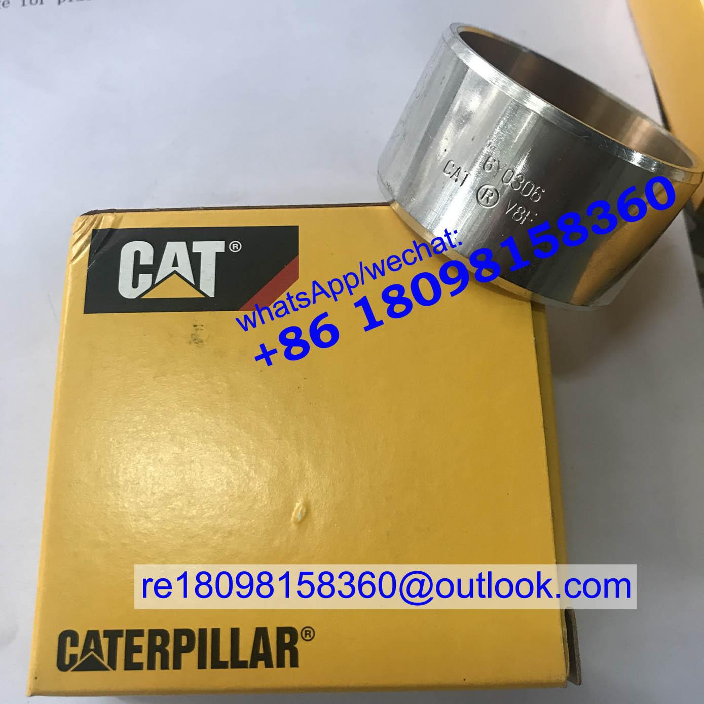 6Y-0306 6Y0306 CAT Caterpillar Bearing for Gas engine G3408 G3408B G342C G379 G379A parts