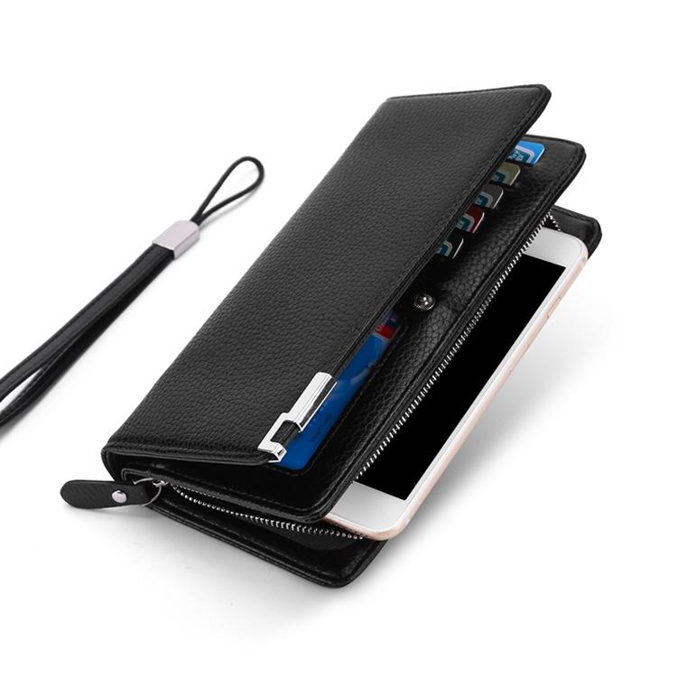 New Version Zipper Business Leisure Man Wallet