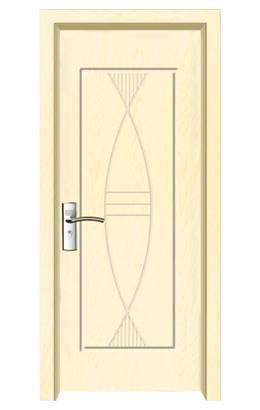 New design steel security pvc door (MP-030)