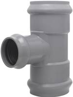 UPVC Reducing Tee F/F with Rubber Ring Joint to PN10