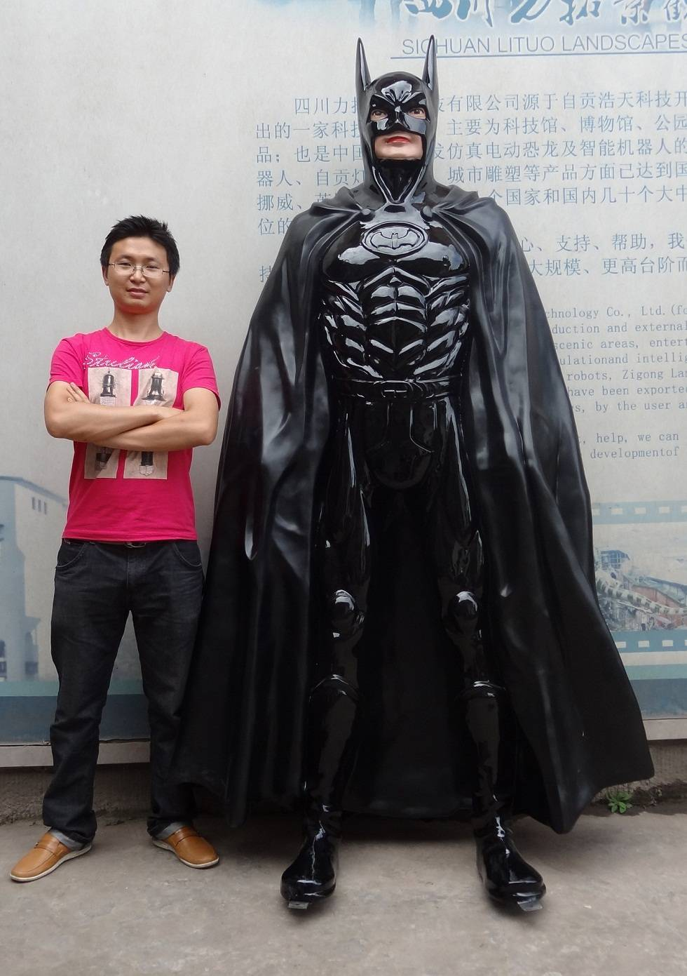 Huge Super Hero Sculpture Batman