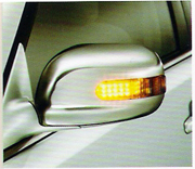 DOOR MIRROR COVER WITH LED -- Toyota Camry, Corolla, Altis, Vios, Avanza