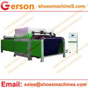 CNC Programmable Automatic Nylon Belt Feeding Rlydranlic Cutting Press