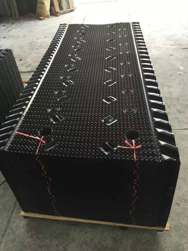 915mm 1220mm 1520mm Cross flute MX cooling tower infill
