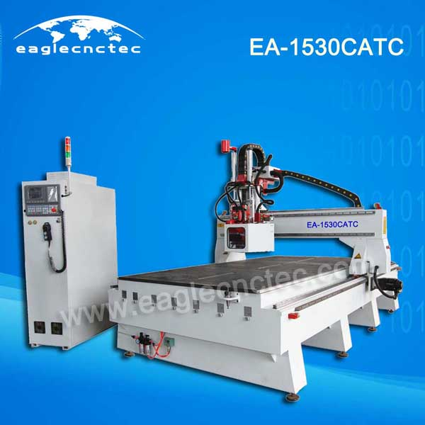 Woodworking Carousel ATC CNC Router Machining Center