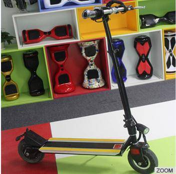 New Products 2 Wheel Handrail Smart Hoverboard Electric Scooter Bike