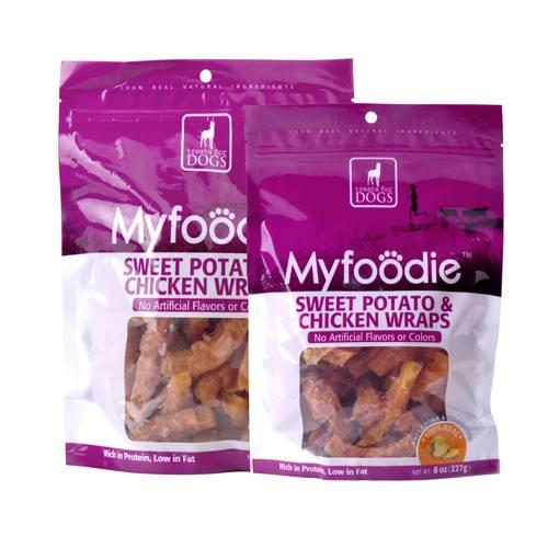 Myfoodie All Natural Chicken Sweet Potato Freeze Dried Dog Treats 8oz
