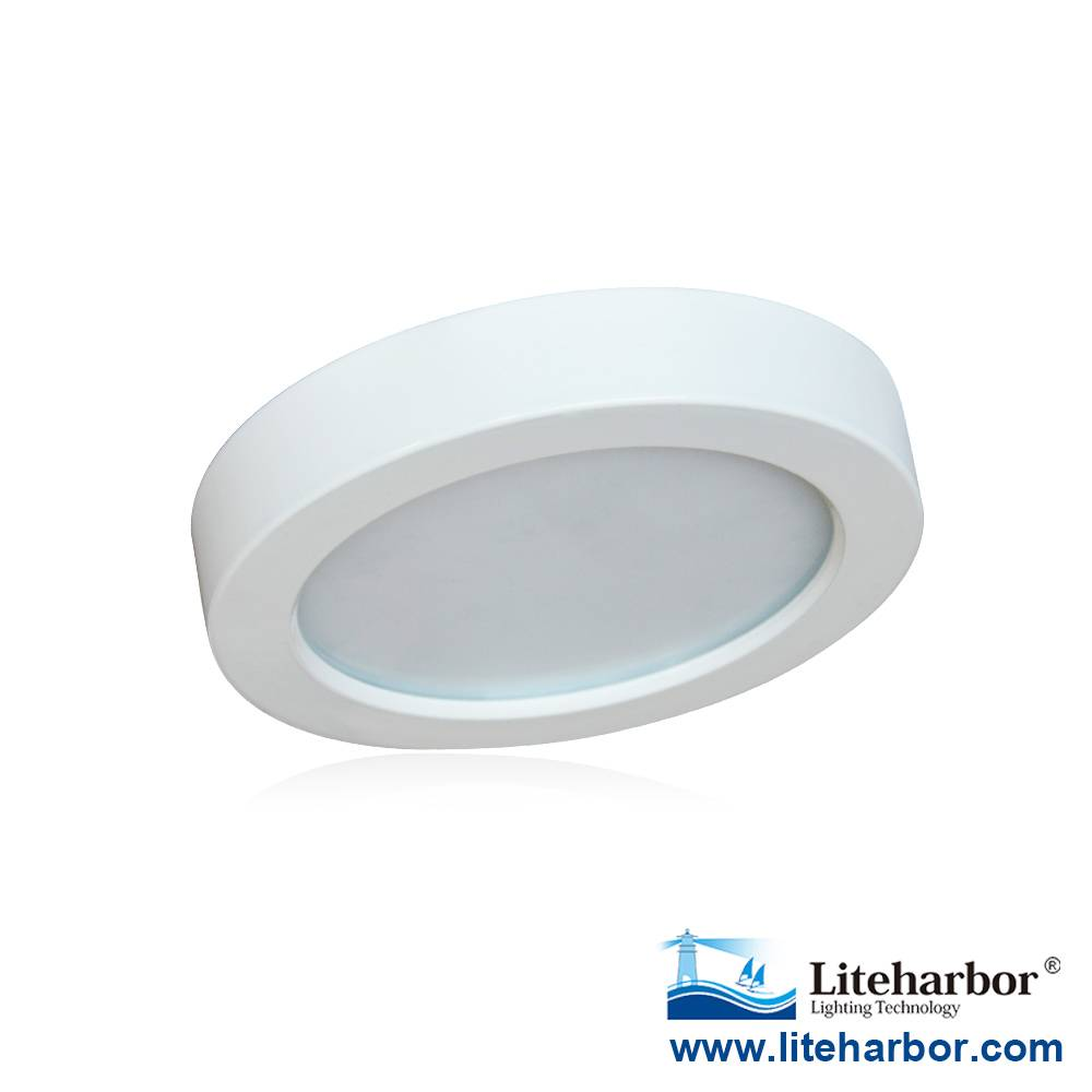 Liteharbor 5.5 Inch Round Flush Mount LED Recessed Ceiling Light