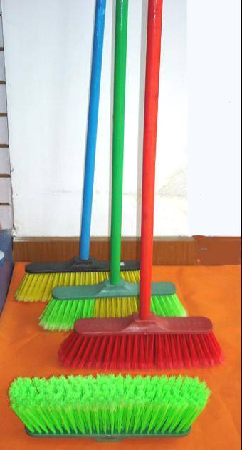 HQ0578R home recycled PP economic cleaning broom set