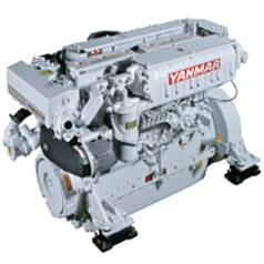 New Yanmar 6HYM-WET Marine Diesel Engine 700HP