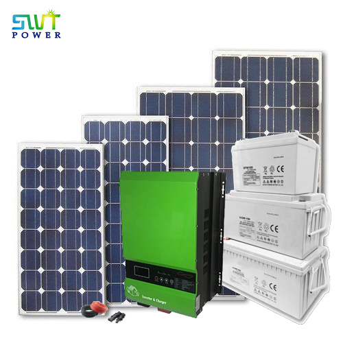 Off-grid 230vac Output Solar Power System 8kw Solar Panel Kit Set for Home Use