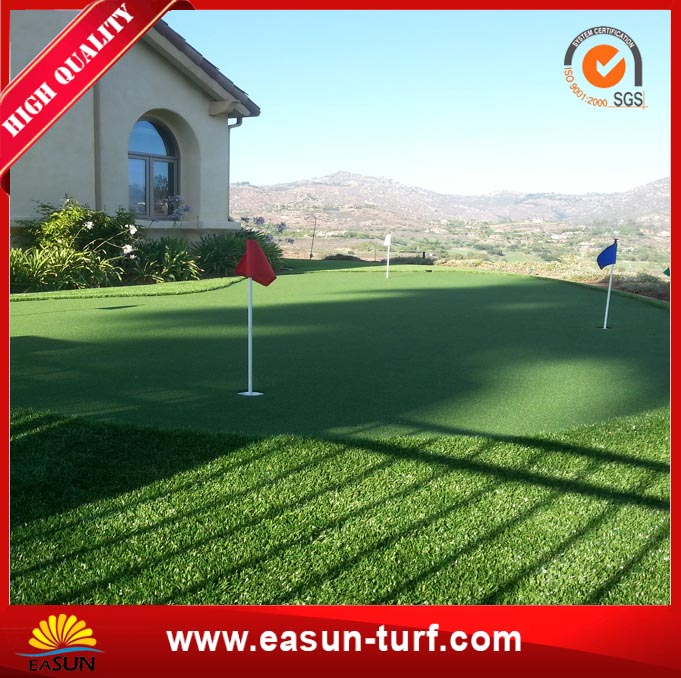 Unfilled High Density Football Artificial Synthetic Grass-MY