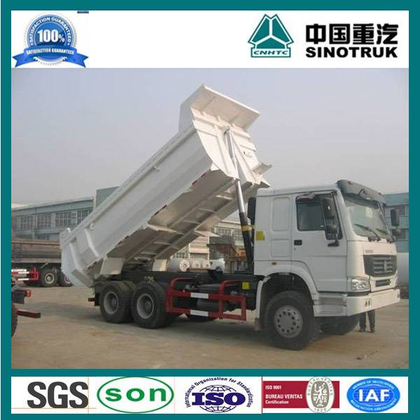 6x4 25 ton howo dump truck
