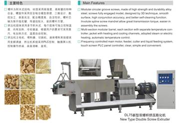 DL75 Double screw extruder