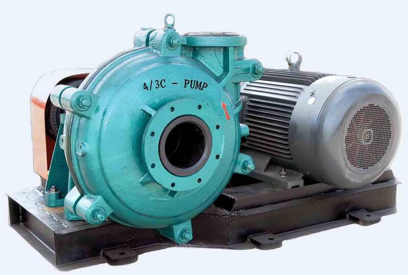 Horizontal Wear Resistant Mining Slurry Pump