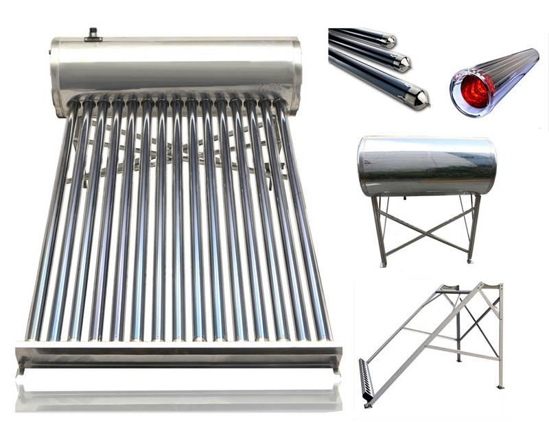 High/Low Pressure/Unpressure/Non-Pressurized solar hot water heater
