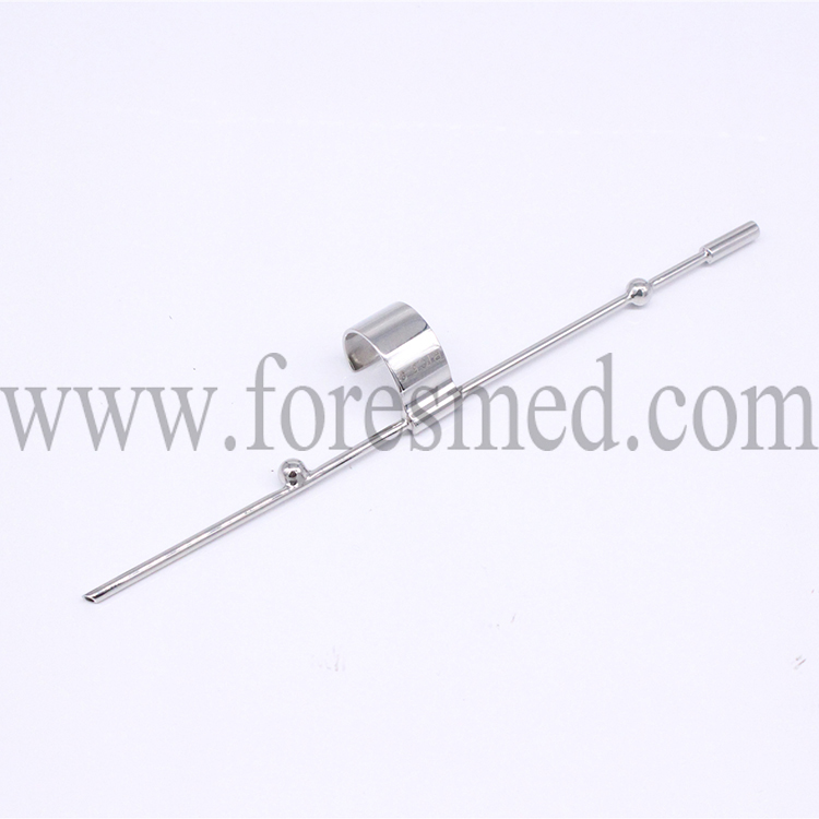 Compatible ultrasound probe GE RIC5-9 reusable biopsy needle guide