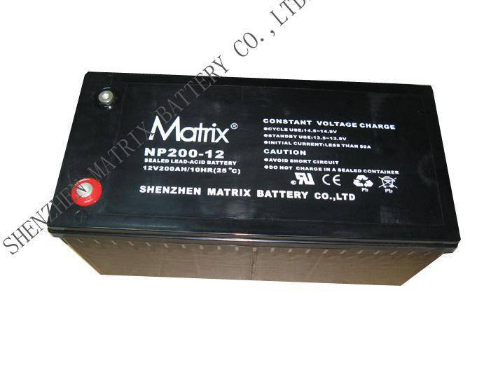 Energy Storage Battery 12V200AH Valve Regulated lead-acid batteries