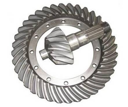 Differential  crown wheel pinion gear