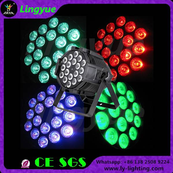 18x15w rgbwa 5in1 led par light