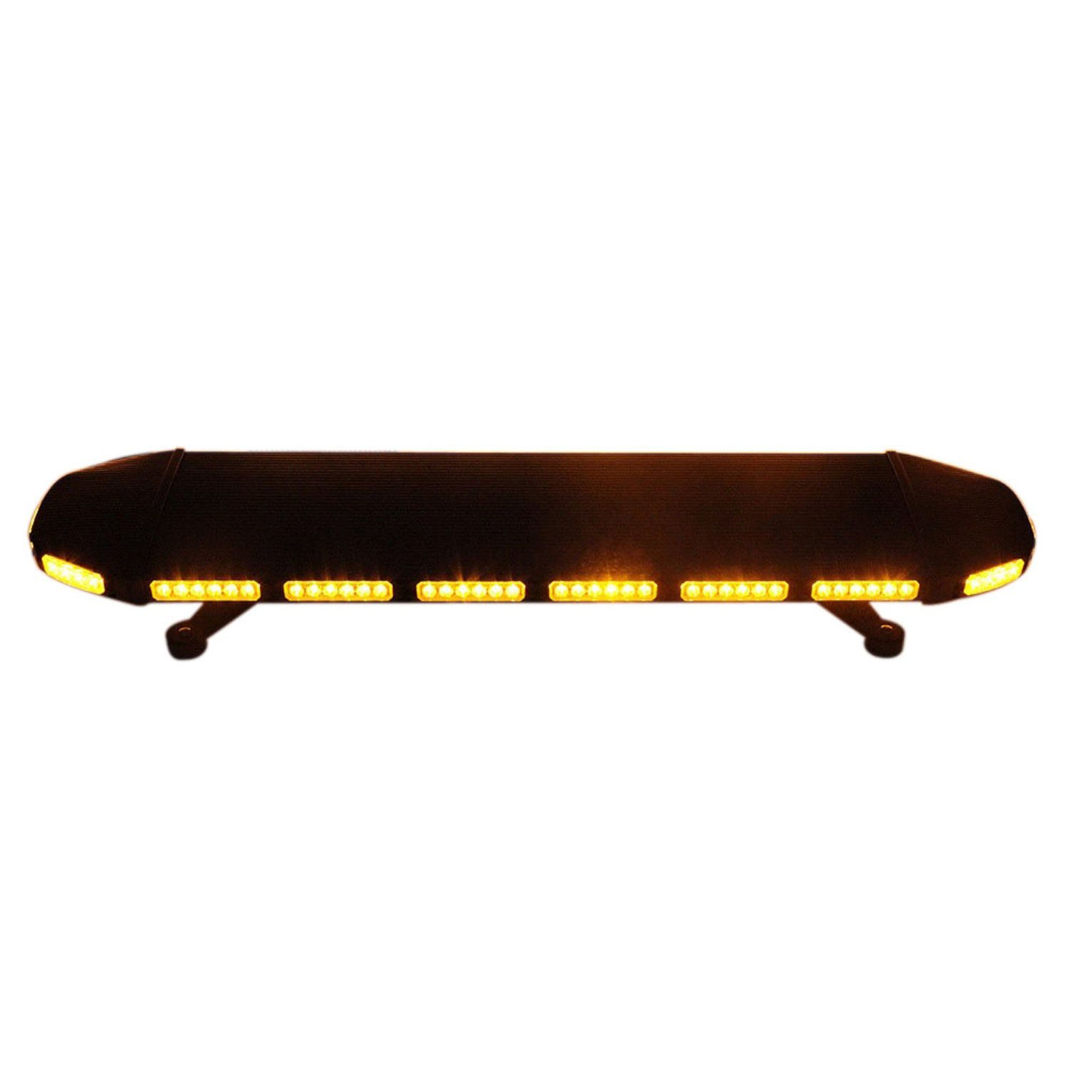 Thunder-Eye Low Profile Magnetic Roof Mount Tow Truck Construction Vehicle Strobe Led Light Bar 288W