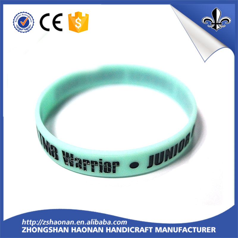 Friend ship silicone rubber bracelet cuff wristband 12mm