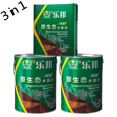 3 in 1 Wood coatings suit Furniture paint Wood oil