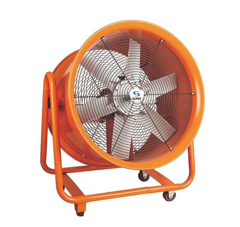 Movable Ventilator Low noise Movable Ventilator pressure blower industrial exhaust fan wholesaler