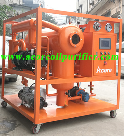Vacuum Oil Purifier for Transformers In China
