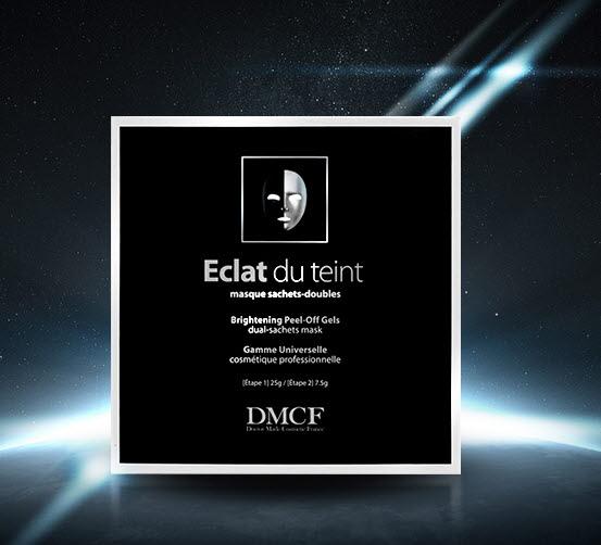 DMCF Eclat du teint Peel-Off Gel Mask - whitening mask for dull skin