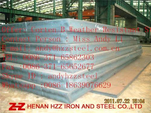 Corten A ,Corten B,Corten A Weather Resistant Steel plate, Corten B Weather Resistant Steel Sheet