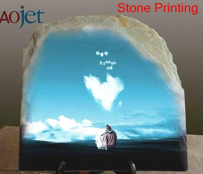 The multifoudation UV stone printing machine, high speed and high resolution, industrial printer
