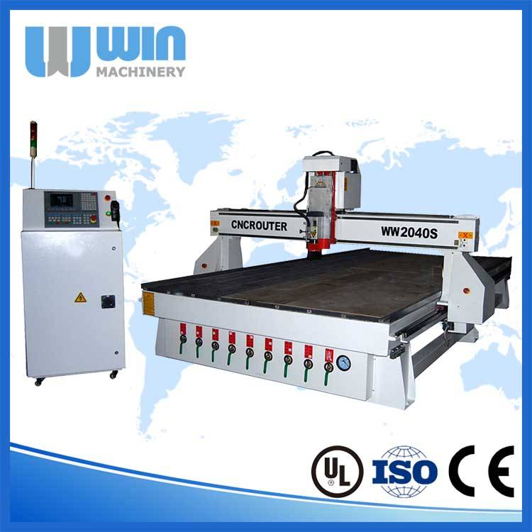 WW2040S Multifunction Woodworking Wood CNC Router