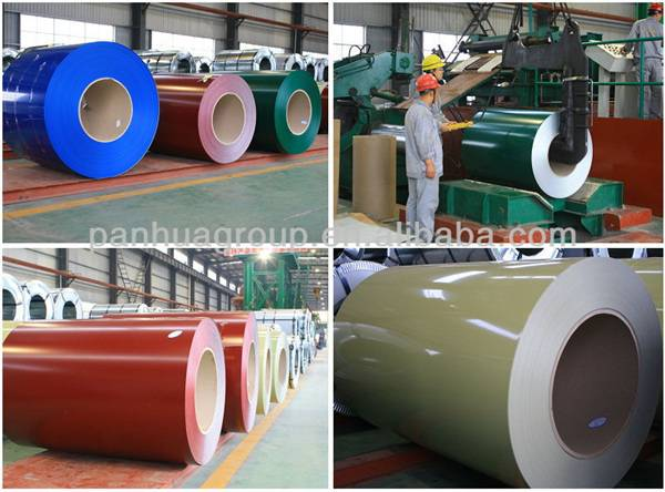 coated steel sheets in coils