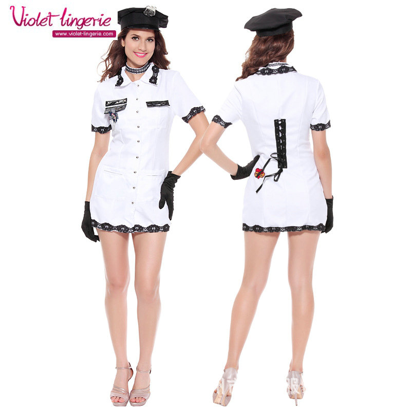 Sexy police woman costume wholesale sexy uniform