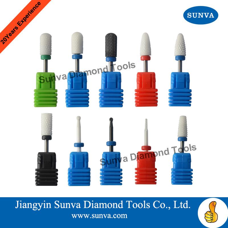 Sunva Ceramic Nail Drill Bits Nail Bur Dental Bur