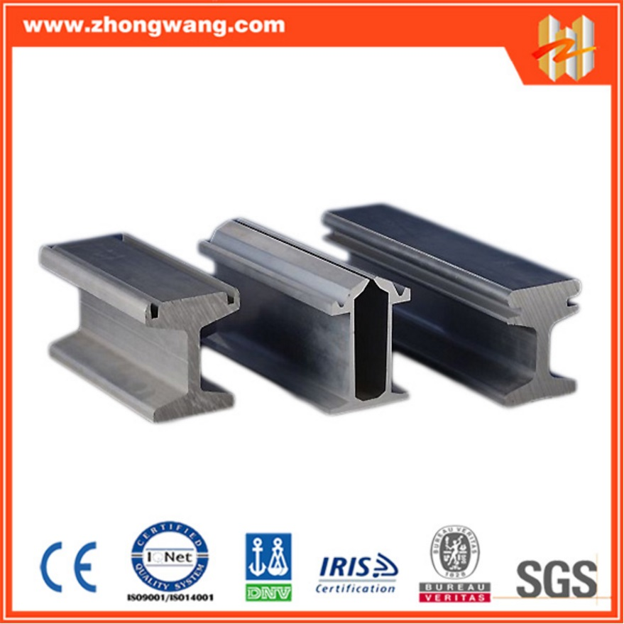 Aluminum extrusion Profiles for Subway Conductor Rail (ZW-TP-008)