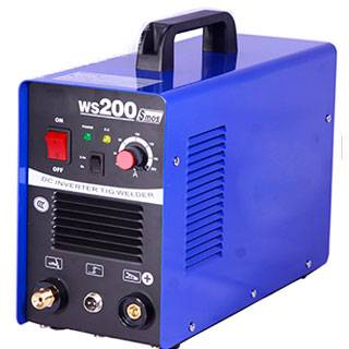 China best quality inverter DC tig weldig machine TIG200S