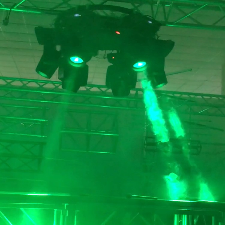 China wholesale Led edit software dj truss DMX512 easy install stage lighting truss laser light